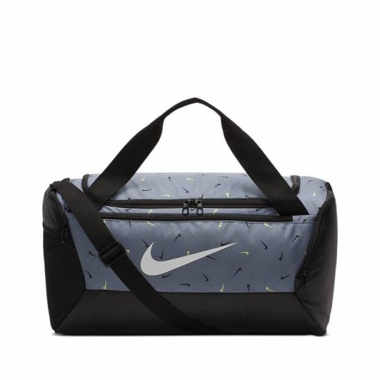 Untado Vicio Claire  Training Bag Nike Brasilia Training Printed Duffel Bag (Small) Cool gray -  WORKOUT.EU