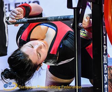 Tereza Herrmannová Powerlifting