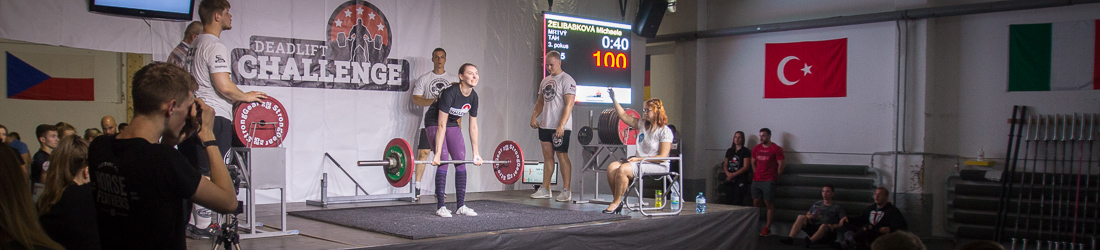 Competition Deadlift Challenge 2019 - WORKOUT EU