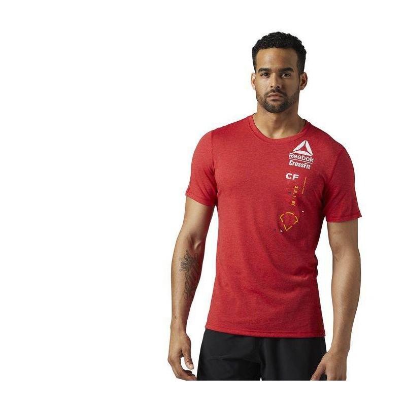 4f37a9128c8 Pánské tričko CrossFit POLY BLEND TEE - GRID BR0 - WORKOUT.EU
