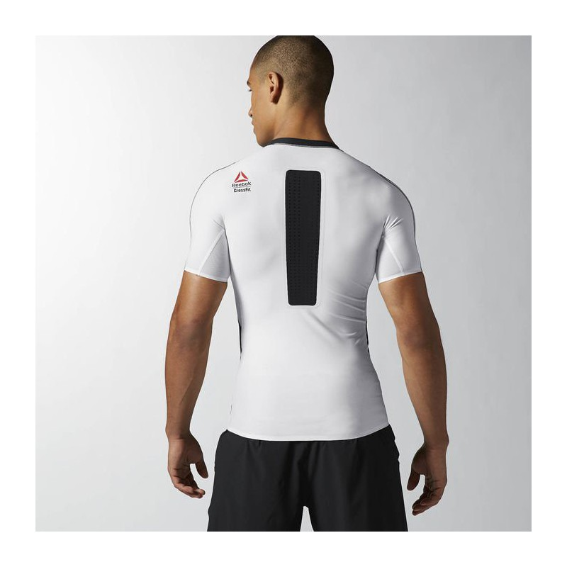 afe136d63f0 Man T-Shirt Reebok CrossFit PWR5 Compression Tee - AB4898 - WORKOUT.EU