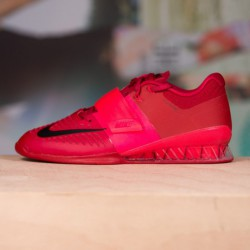 Man Shoes Nike Romaleos 3 - red