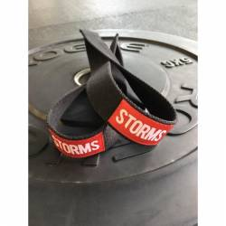 STORMS weightlifting straps - wide 4 cm
