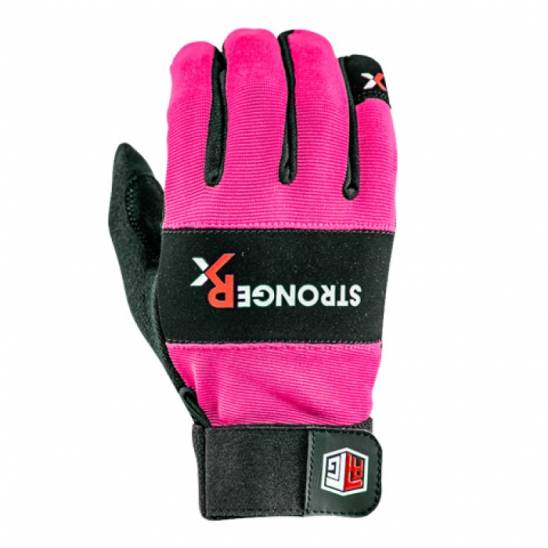 Crossfit Competition Gloves: StrongerRx RTG WOD Fitness Gloves / Pink
