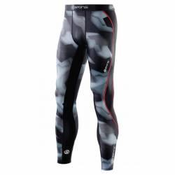 Pánské kompresní kalhoty SKINS DNAmic Long Tights Glith Camo