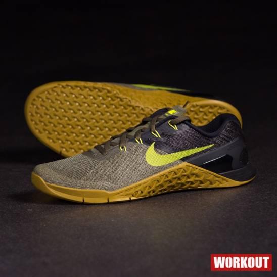 6ecb969635e46 Man Shoes Nike Metcon 3 - black/green - WORKOUT.EU