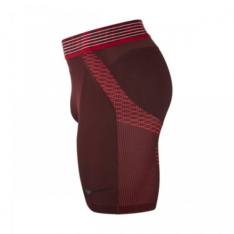 Pánské kompresní šortky Nike Pro Hypercool SHORT - červené - WORKOUT.EU 6a6b78b66a