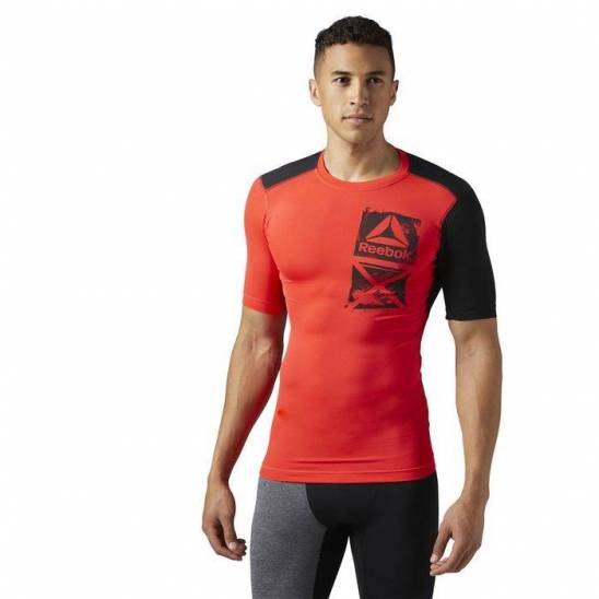 9ff49054 Man compression T-Shirt Active Chill GRAPHIC COMP TEE BR9572
