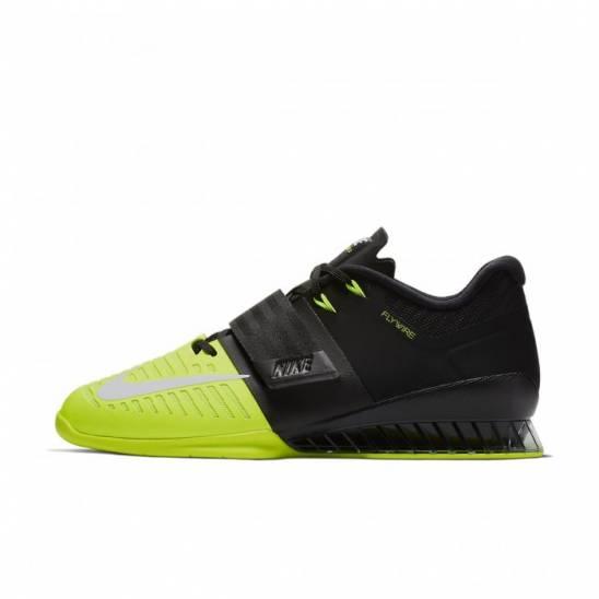Man Shoes Nike Romaleos 3 - black yellow - WORKOUT.EU 3afbd494f