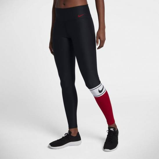 Dámské legíny Nike Power Training Tights black red - WORKOUT.EU 8c9497542d