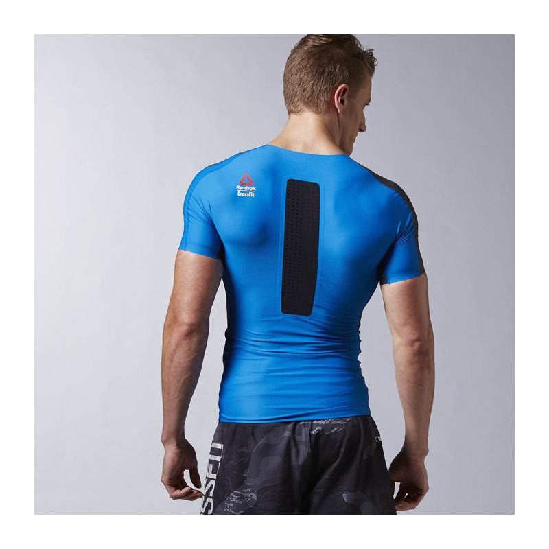 Man compression T-Shirt Reebok CrossFit SS COMP - WORKOUT.EU f666cdfde9