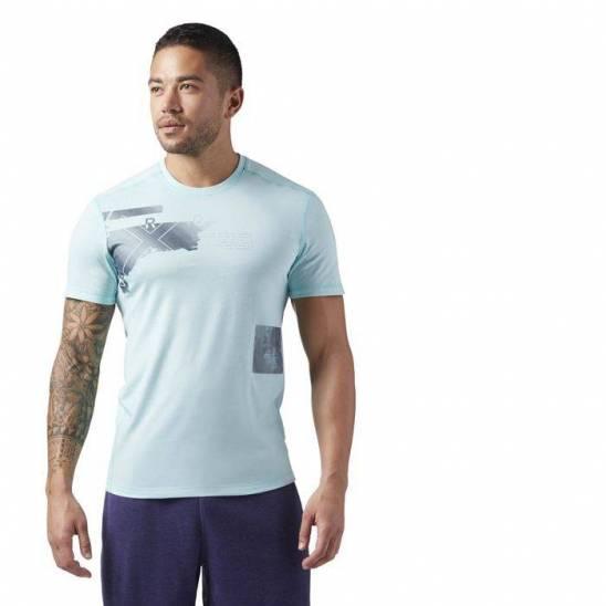 Man T-Shirt Reebok CrossFit Burnout Tee - WORKOUT.EU 10b5353ef3