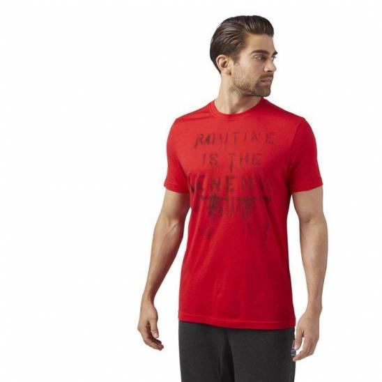 a5c57474a83 Pánské tričko CrossFit ROUTINE TEE - WORKOUT.EU