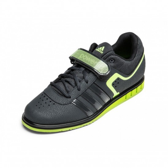 0ceb37e5983d Weightlifting shoes adidas Powerlift 2.0 - grey yellow - S7795 ...