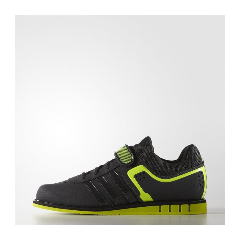 info for 5fec7 1152a ... top quality weightlifting shoes adidas powerlift 2.0 grey yellow s7795  9235a a8468