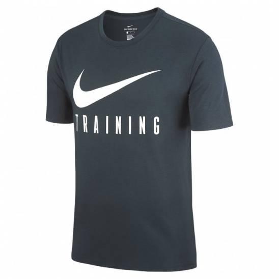 Man fitness T-Shirt Nike TRAINING - grey - WORKOUT.EU 86e3da2e8ce