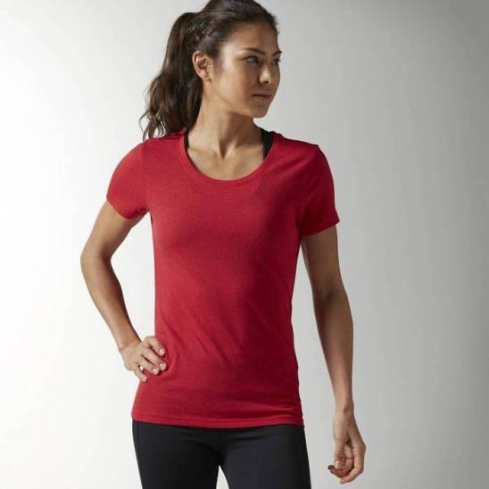 b9f2d229a51a Dámské tričko WMNS GLOBAL BLANK T BLEND - AO0916 - WORKOUT.EU