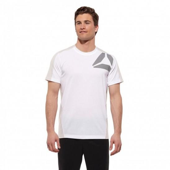 Pánské triko Reebok GRAPHIC bílé Z67036
