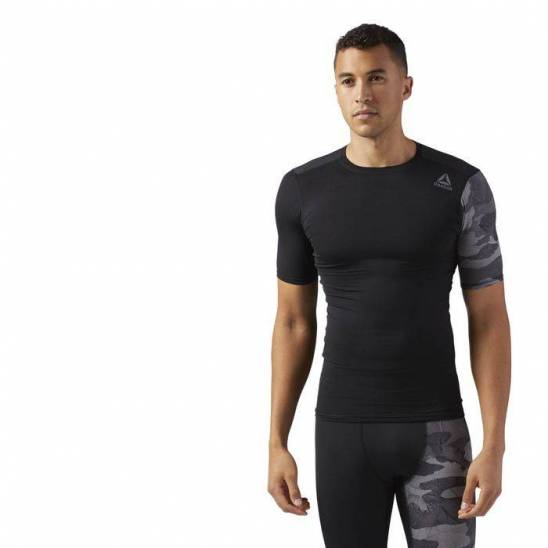 0648aa30e Man compression T-Shirt Active Chill GRAPHIC COMP TEE - WORKOUT.EU