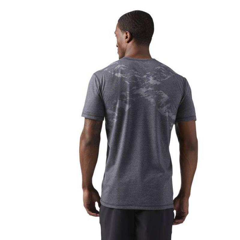 a7bea47dd67 Man T-Shirt Reebok CrossFit BURNOUT TEE - WORKOUT.EU