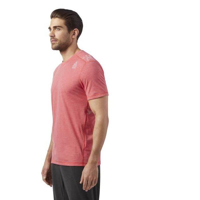 Pánské tričko Reebok CrossFit BURNOUT TEE - WORKOUT.EU 7f9c332912