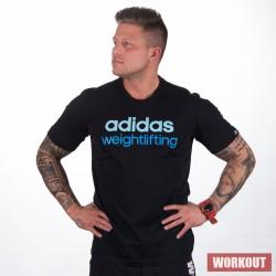 Man T-Shirt adidas weightlifting black