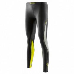Dámské dlouhé kompresní kalhoty Skins DNAmic Black/Limoncello