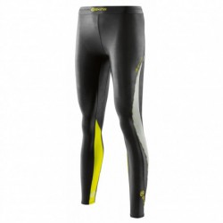 Woman dlouhé compression Tight Skins DNAmic Black/Limoncello