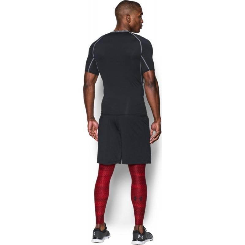 Under Armour Mens HeatGear Armour Printed Compression Leggings Under Armour Apparel 1289578