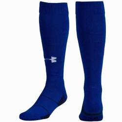 Under Armour UA Over-The-Calf blue Team Socks