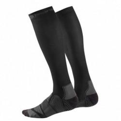 Kompresní podkolenky Skins Essentials Black/Charcoal