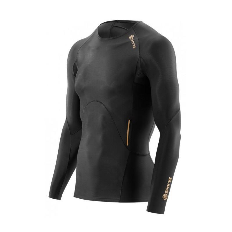 Man compression T-Shirt long sleeve Skins A400