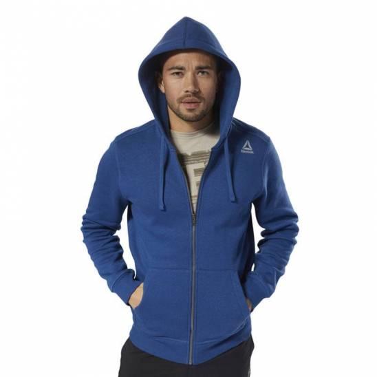 0d5e2dc8c04 Man hoodie TE FLEECE FZ - D94203 - WORKOUT.EU