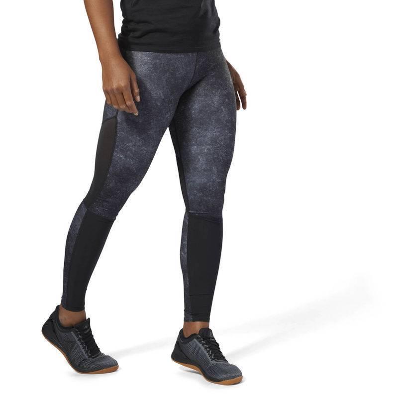 e4a763d2355 Woman Tight Reebok CrossFit Comp Tight AOP - D94955 - WORKOUT.EU