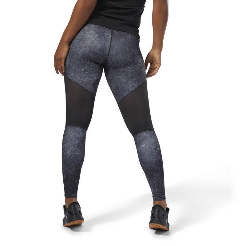 Woman Tight Reebok CrossFit Comp Tight AOP D94955