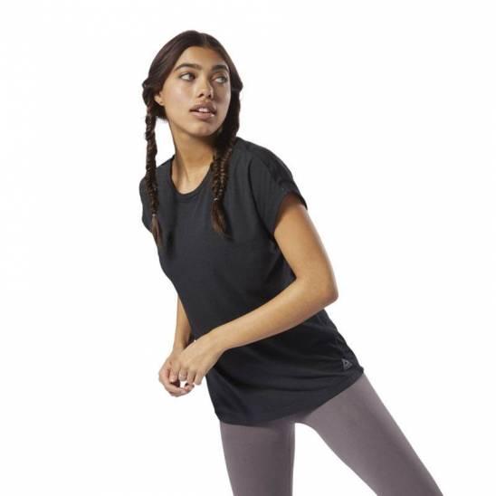 8d41adefe Woman T-Shirt WOR MESH PANEL TEE - D95037 - WORKOUT.EU