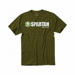 Pánské tričko Spartan Classic Logo Tee zelené
