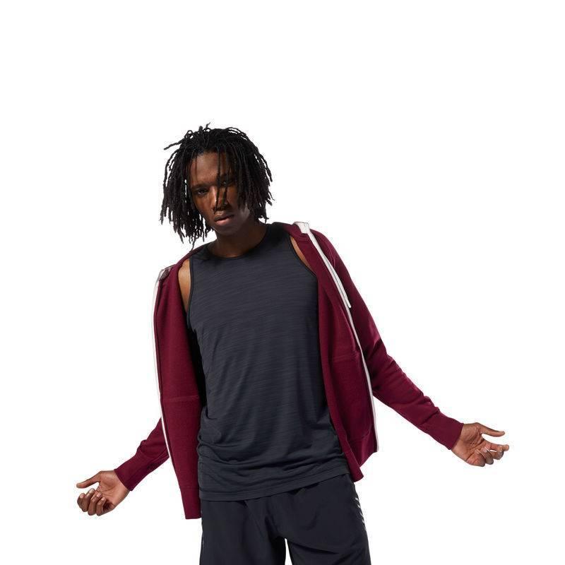 Mens sweatshirt Les Mills ZIP HOODIE - DJ2219 - WORKOUT.EU c9513985de