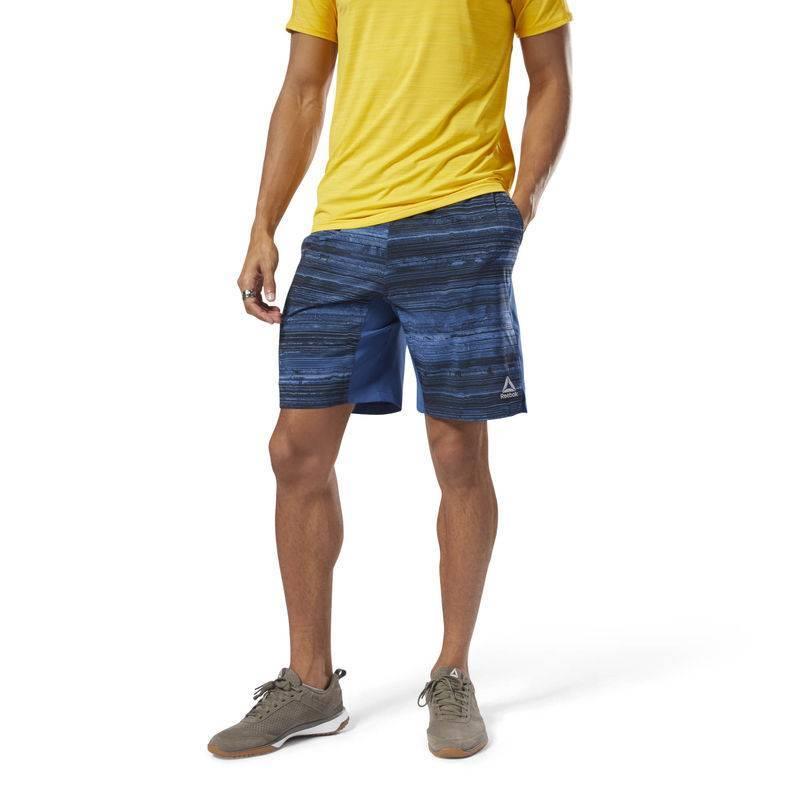 b381aa41f52 Man Shorts Speed Short - AOP - DN6031 - WORKOUT.EU