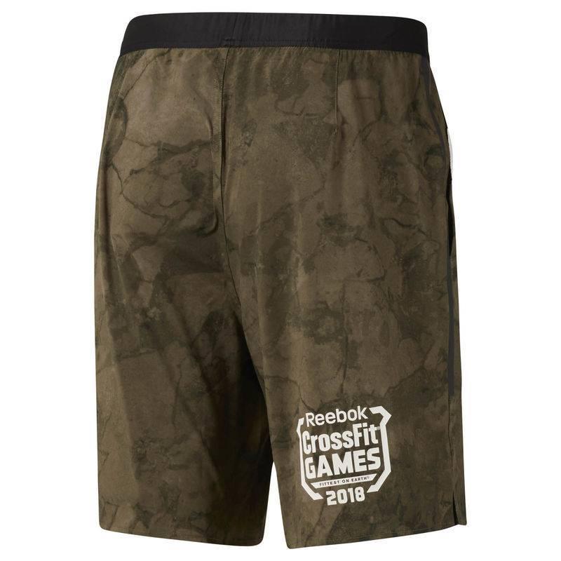 1f7040ddabd ... Pánské šortky Reebok CrossFit Games Speed Short Stone - DN6178 ...
