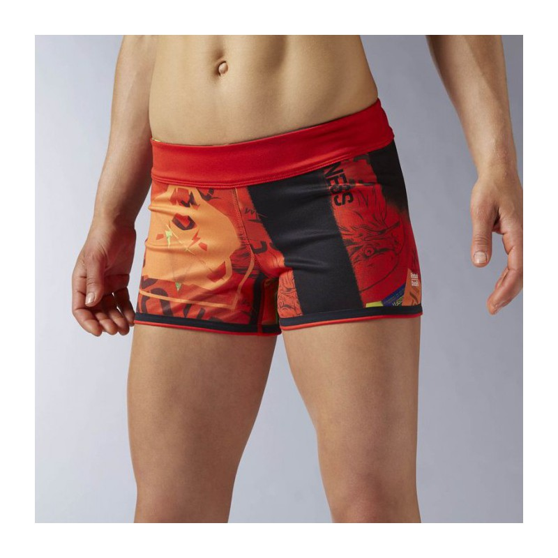 Woman Shorts Reebok CrossFit Chase Bootie Prime