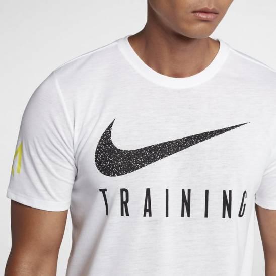 08ea32da06f53 Man training T-Shirt Nike Training GAMES - white - WORKOUT.EU