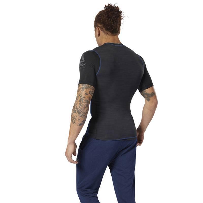 ff154a953d6 Man compression T-Shirt AC Graphic Tee - D93804 - WORKOUT.EU