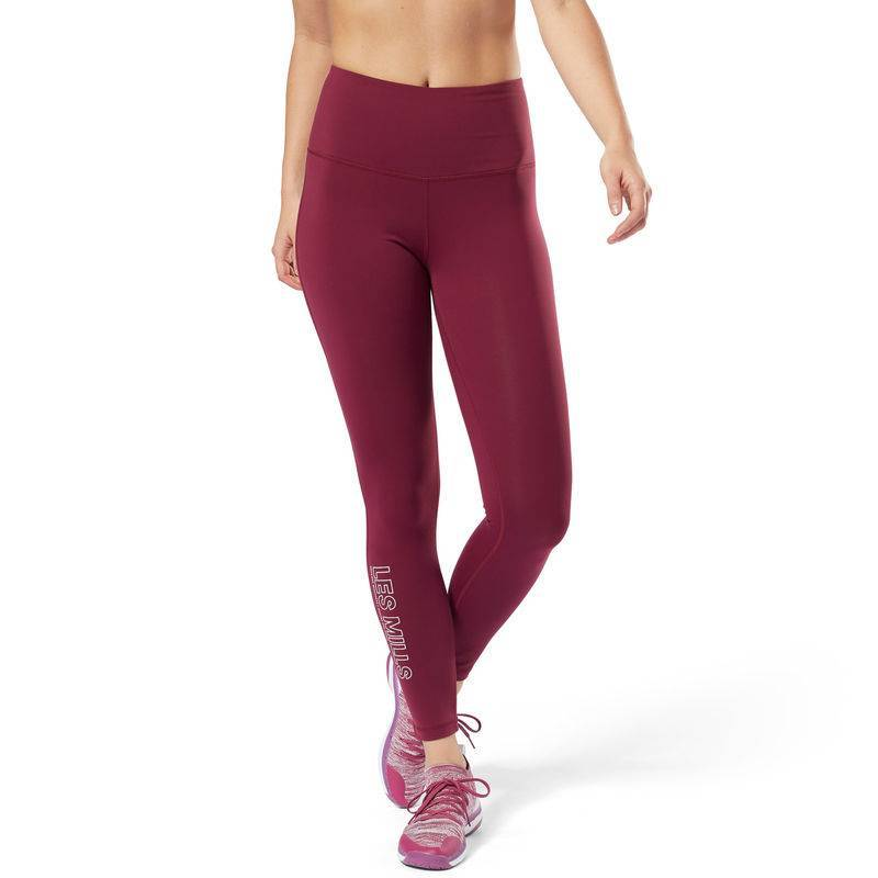 Woman Tight Les Mills Lux High-Rise Tight - DM2663 - WORKOUT.EU 7a20d4bc1cd