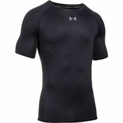 Man compression T-Shirt Under Armour PRINTED black 1257477-010