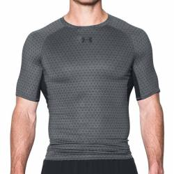 Man compression T-Shirt Under Armour grey printed