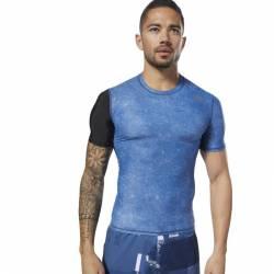 Reebok Man T-Shirt CrossFit SS Compression
