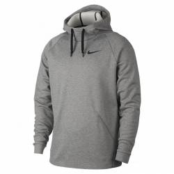 Pánská tréninková mikina Nike Therma Men's Training Hoodie gray