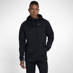 Man training hoodie Nike Therma Mens Training Hoodie black