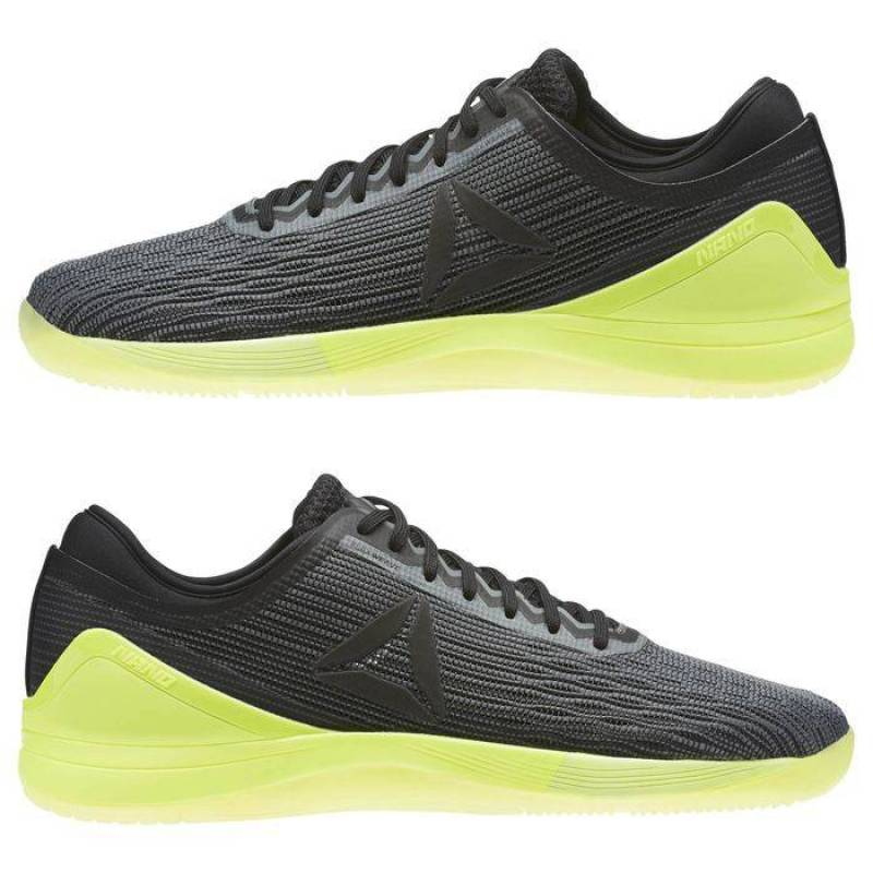 Man Shoes Reebok CrossFit Nano 8 Flexweave šedo/zelené